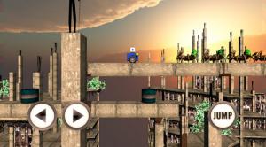 """Captura de pantalla de demo de juego """"Aracno Apocalypse"""" desarrollado durante el bootcamp"""