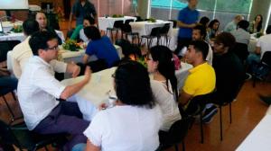 Expertos Invitados a Expin Workshop compartiendo conocimiento con participantes de los talleres.