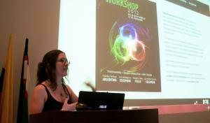 Conferencia de Marcela Repallo en Workshop de Expin Media Lab